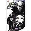 Children's Scary Skeleton Child 158cm Costume Large 11 to 13 yrs (158cm) for Halloween Living Dead Fancy Dress
